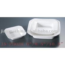 Cena de porcelana hotel cuadrado ware JX-PB020