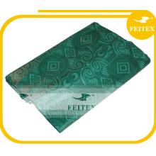 FEITEX африканских Оптовая Абая ткань Базен riche Гвинея парчи дамасской крашеный Текстиль ручной работы Жаккард
