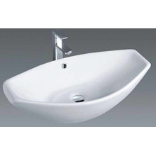 Salle de bain populaire Ensemble de lavabo de lavabo en céramique supérieur (1003)