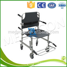 emergency and clinics apparatus Medical folding Aluminum Alloy Stair Stretcher