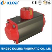 At100d de alumínio dupla ação do atuador de válvula pneumática