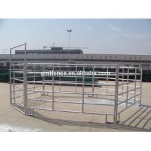 Clôture en acier galvanisé / revêtue de PVC pour usine