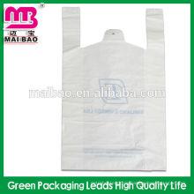 Kundengebundene schwarze T-Shirt Tasche Multi-Color-Druck T-Shirt Tasche Enviromental Material ausgezeichnete Qualität Weste Tasche
