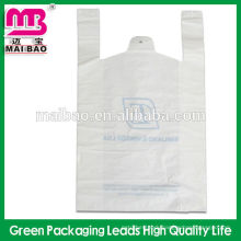 Customized Black t shirt bag multi-color printing T-shirt bag Enviromental material excellent quality vest bag