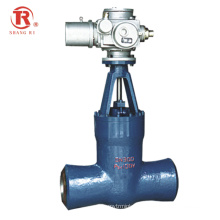 API CE Factory High Quality Power Station Electric  Steel Welded Gate Valve