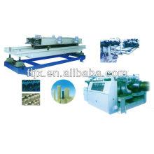 Chaîne de production de tube ondulé de mur de double de hdpe / pvc / pe de FT
