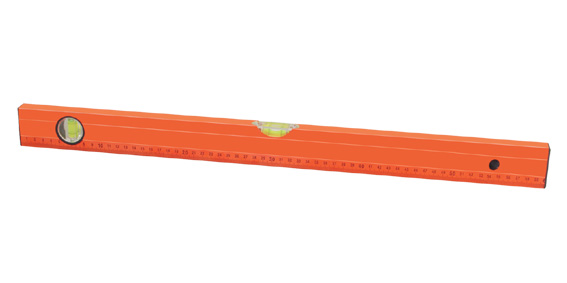 Aluminium Ribbed Spirit Level with Distinct Scale