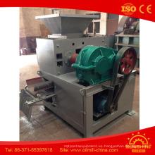 Fácil operación de la máquina de briquetas de coque de petróleo