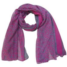 Écharpe en soie imprimé de printemps de Lady Fashion polyester (YKY4217)