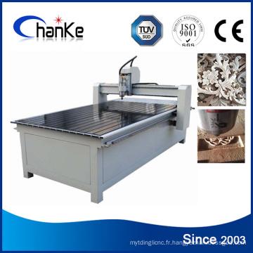 Machines de coupe de gravure en bois CNC pour bois MDF / Métal