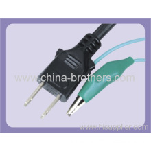 Japan Standard Power Cord Three Pins Plug With Pse Approval