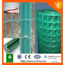 PVC Green Color RAL6005 Clôture euro / clôture en maille Holland