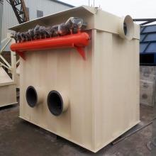 Colector industrial de polvo de casa de bolsas utilizado en planta de cemento