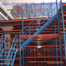 Ebil-Powder Coated Warehouse Storage Heavy Duty Steel Mezzanine Racking