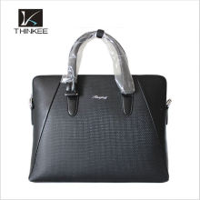 High quality brand custom real leather bag for men