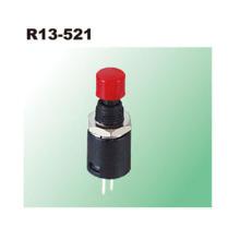 Interruptores de botão de plástico momentâneos 2P SPST