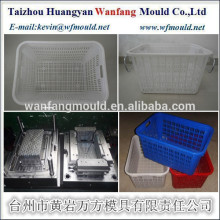 plastic fishing basket mould made in China