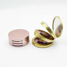 Triple-Layered Lash Case With Mirror For 6D Silk Own Brand Eyelash Package/Private Label Mink/Silk Eyelashes With Custom Box