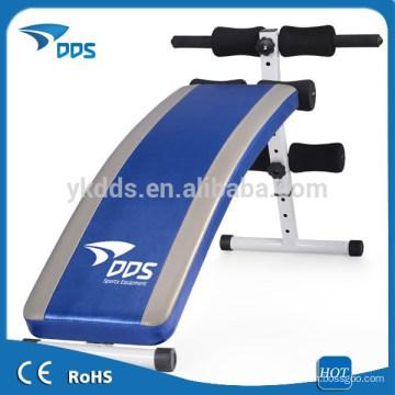 Deluxe portátil ab declínio sentar-banco /supine placa exercitador de aptidão