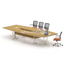 (MFC) HT-24-45 mesa de conferência moderna moldura de aço inoxidável para mesas de conferência de 4,5M for sale
