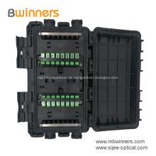 24 tipo Inline da braçadeira caixa Inline do cerco da tala da fibra óptica