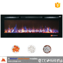 "NUEVO 60 ""Linear Electric Fireplace Insert"