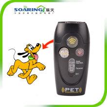 Comando de Pet - controle de casca de treinamento de animais com built-in lanterna (zt12017)