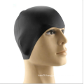 High quality waterproof silicone swimming cap for longhair