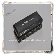 Hot sale 3 Port HDMI Switch Splitter for HDTV HD 1080P