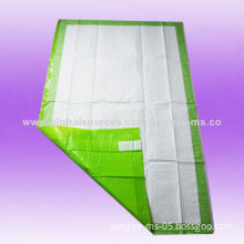 Dry and Comfortable Adult Underpad Diapers, OEM and ODM Orders Acceptable