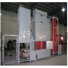Máquina de fabricação de tingimento contínuo de webbings para serviços pesados