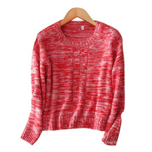 Women short sweater assorted colors 100% cashmere O neck fashion sweater