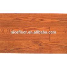 Natural WHITE Ash piso de madeira maciça