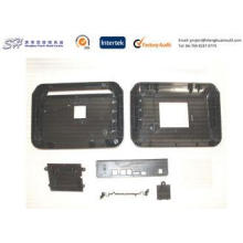 Customized Black Plastic Electronic Enclosures / Housing Wi