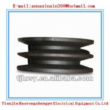 Black oxied V Belt Pully SPA SPB SPC SPZ