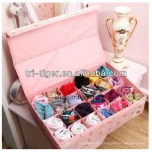 24 Organizadores de almacenamiento de ropa interior de calcetines de corbatas