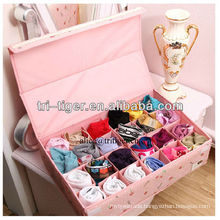 24 Grid Ties Socks Underwear Storage Organizer