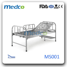High quality Cheap Stainless Steel Hospital Bed, Hospital Ward Equipment MS001