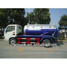 Dongfeng camión de aguas residuales, 3 toneladas camión cisterna de aguas residuales