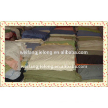 weifang 100% cotton dyed fabric stock for bedsheet or curtain