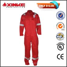 50% de descuento ventas rojo CN 8812 seguridad llama ignífuga workwear bata