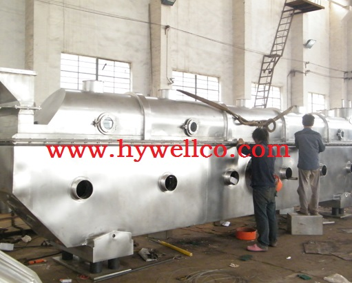 Glass Fibre Fluid Bed Drying Machine