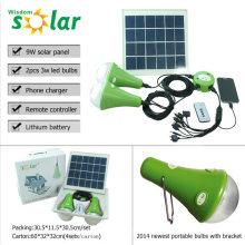 2014 begrüßte CE solar Notbeleuchtung mit led solar Notfall lighting(JR-SL988)