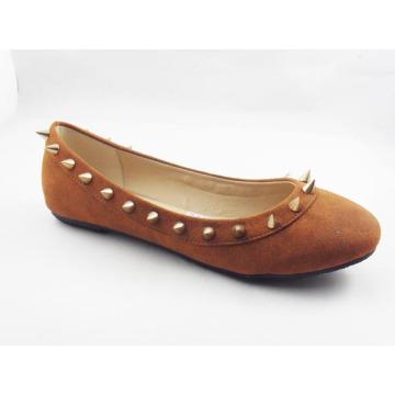 Neue Art-Frauen-Kleid-flache Schuhe (HCY03-132)