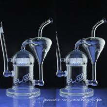 Clear Recycler Oil Rigs for Smoking with Sprinkler Perc (ES-GB-026)