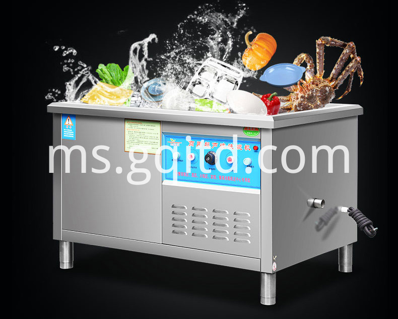 Automatic ultrasonic dishwasher