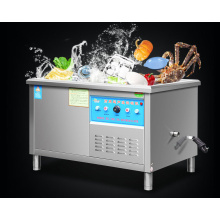 เครื่องล้างจานสแตนเลสแบบอัลตราโซนิคสำหรับโรงแรมและร้านอาหาร