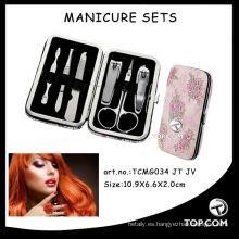 Kit de manicura completo para niños, kit de herramientas de kit de manicura, kit de manicura para niños.