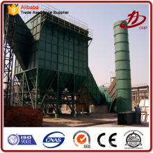 Coal / biomass power plant flyash dust collection system