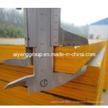 Fournisseur de contreplaqué de visage noir / brun / rouge à haute qualité en provenance de Chine